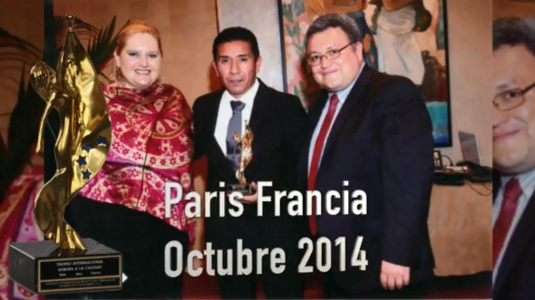 International Europe award 2014